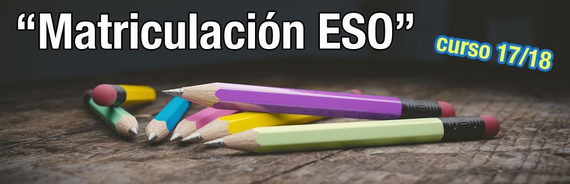 matriculacion ESO
