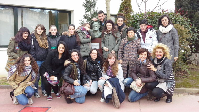 Visita a la residencia Marcelo Gangoiti