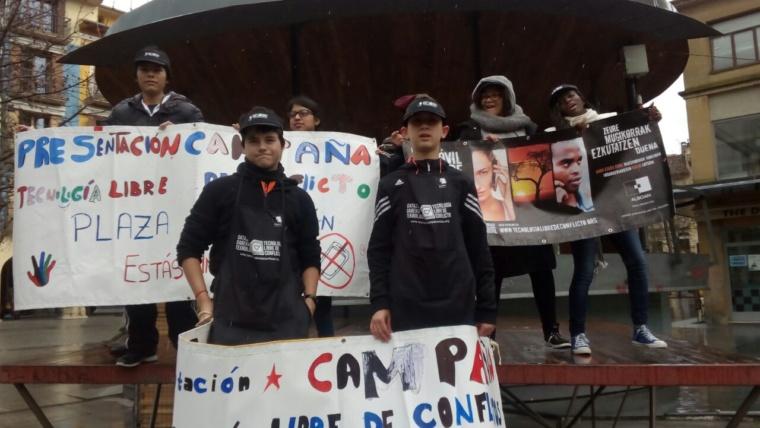 """Nuestros """"Gazte taldeak"""" comprometidos con la campaña TLC de ALBOAN"""
