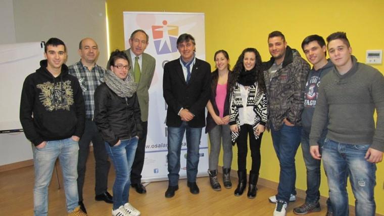 El grupo de PR3-1º visita OSALAN