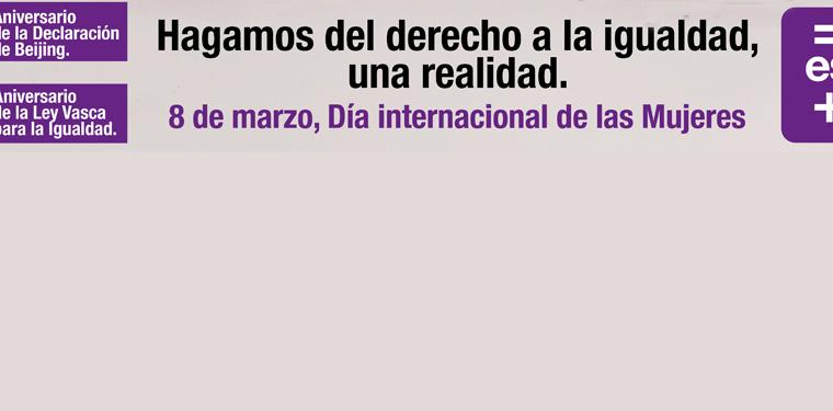 8 de marzo; día internacional de las mujeres