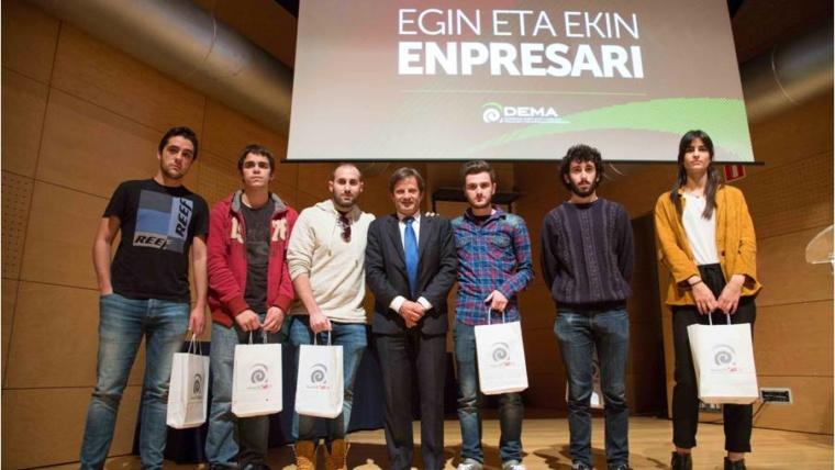 """""""Easytronic"""" premio """"Egin eta Ekin – Enpresari"""""""