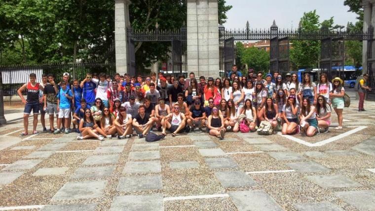 De convivencia en Madrid y Cangas