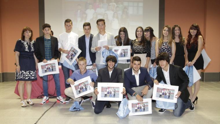 Emotiva gala de entrega de orlas a nuestro alumnado de 4ºESO y 2ºPCPI