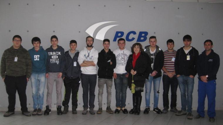 IM2-2º visita la empresa PCB en Barakaldo