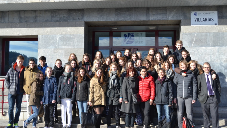 18 alumnos daneses de intercambio en nuestro Centro