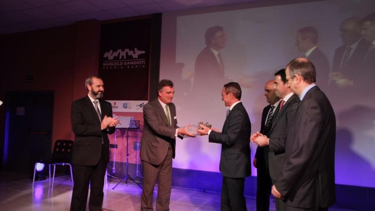 BOMBARDIER galardonada con el XX premio Marcelo Gangoiti