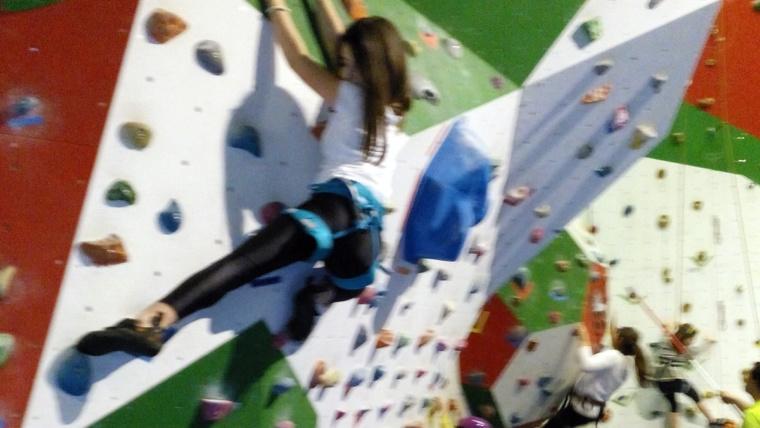 Julene Beazcua, la escaladora que no tiene cima