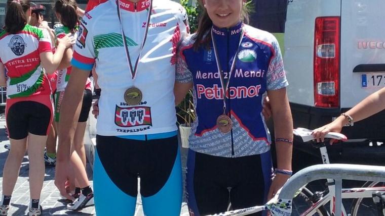 Anne de Pablo, una futura estrella del ciclocross