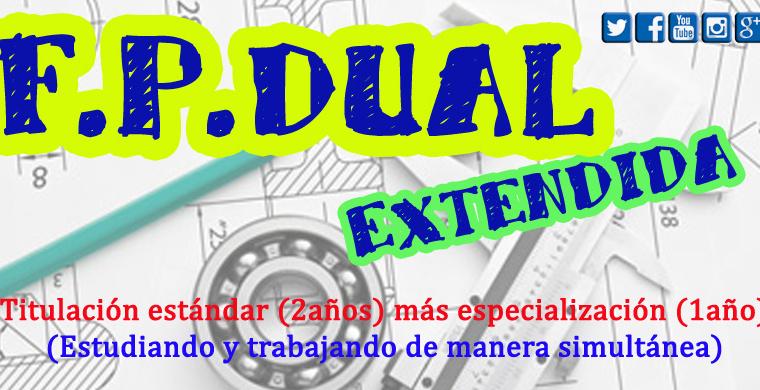 Programa de FP DUAL EXTENDIDA para PP3 y AR3