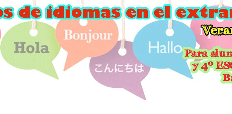 Becas para cursos de idiomas en el extranjero (verano 2017)