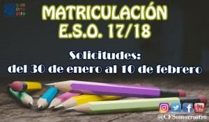 matriculacio ESO