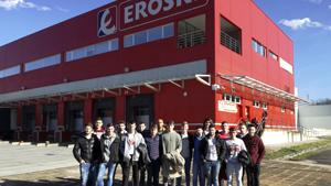 Visita al centro de logística de Eroski