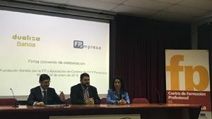 La Asociación FPempresa y Bankia de la mano en su proyecto de FP dual