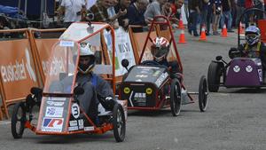Ganadores de la 1ª carrera de coches eléctricos de EUSKELEC