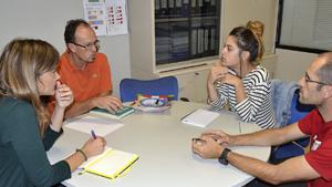 Primer encuentro entre la Fundación Baltistan y Somorrostro