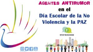 Agentes ANTIRUMOR en el Día Escolar de la NO VIOLENCIA