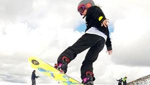 Amaia Vadillo, pura adrenalina en la nieve