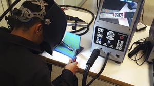 Primer Campeonato de soldadura virtual en Somorrostro