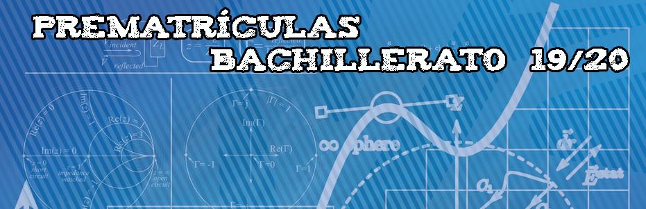 prematriculas bach