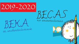 Convocatoria de BECAS para el curso 2019/2020