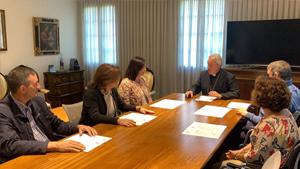 Nuestra compañera Juli Moreno en la comisión para la prevención de abusos sexuales de la Diócesis
