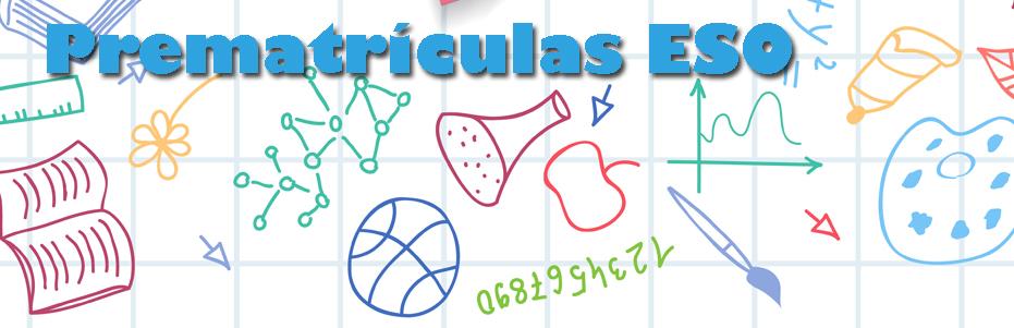 prematriculas ESO