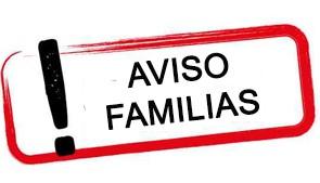 Comunicación a las familias
