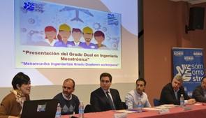 Mondragon Unibertsitatea y el Centro Somorrostro presentan al tejido empresarial de Bizkaia el modelo dual de Ingeniería Mecatrónica