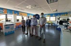 Somorrostro representatives visit the Aragon Hydrogen Foundation