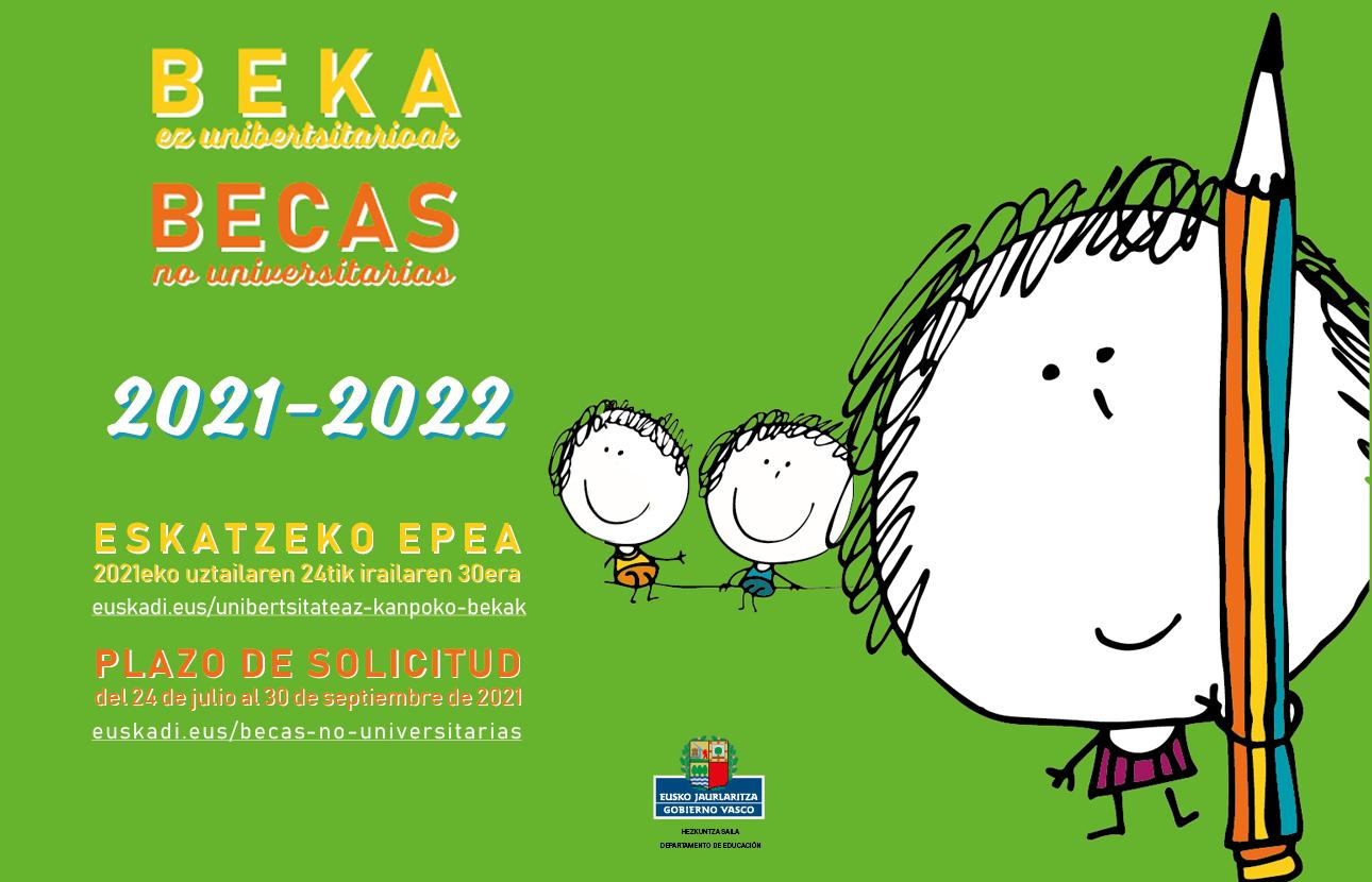 Becas Gobierno Vasco 21/22